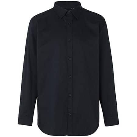 Mens Twill Shirt in Black von Neutral (Artnum: NE67001