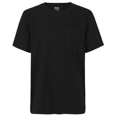 Unisex Workwear T-Shirt in Black von Neutral (Artnum: NE69001