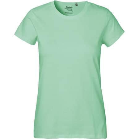 Ladies` Classic T-Shirt in Dusty Mint von Neutral (Artnum: NE80001