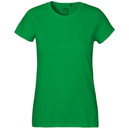 Ladies` Classic T-Shirt in Green von Neutral (Artnum: NE80001