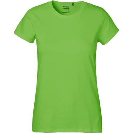 Ladies` Classic T-Shirt in Lime von Neutral (Artnum: NE80001