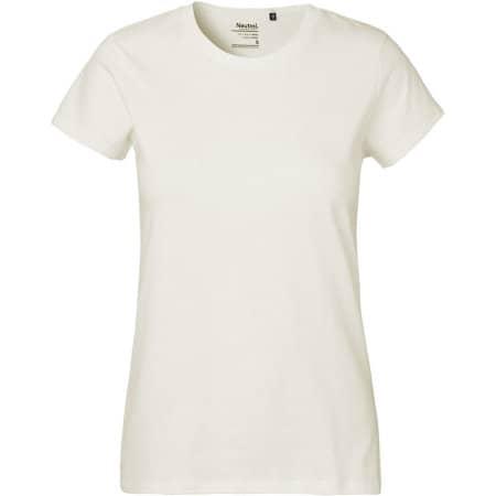 Ladies` Classic T-Shirt in Nature von Neutral (Artnum: NE80001