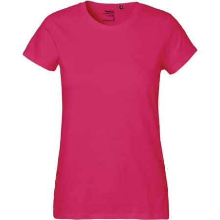 Ladies` Classic T-Shirt in Pink von Neutral (Artnum: NE80001