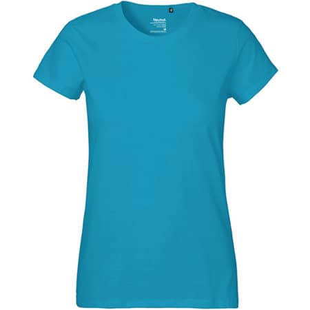 Ladies` Classic T-Shirt in Sapphire von Neutral (Artnum: NE80001