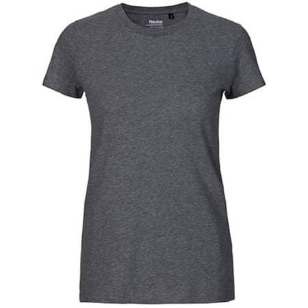 Ladies` Fit T-Shirt in Dark Heather von Neutral (Artnum: NE81001