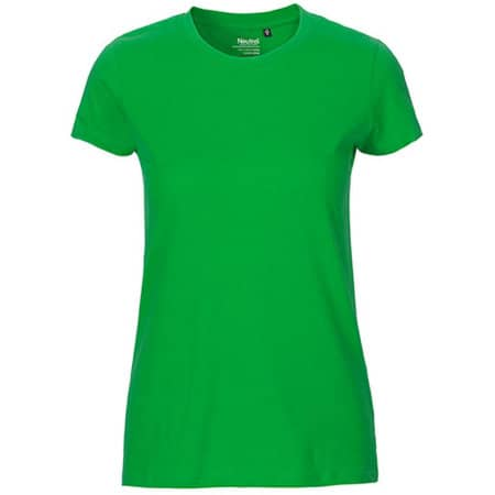 Ladies` Fit T-Shirt in Green von Neutral (Artnum: NE81001