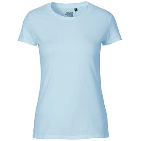 Ladies` Fit T-Shirt in Light Blue von Neutral (Artnum: NE81001