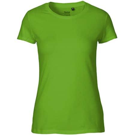 Ladies` Fit T-Shirt in Lime von Neutral (Artnum: NE81001