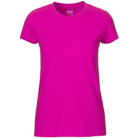 Ladies` Fit T-Shirt in Pink von Neutral (Artnum: NE81001