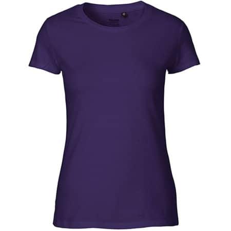 Ladies` Fit T-Shirt in Purple von Neutral (Artnum: NE81001