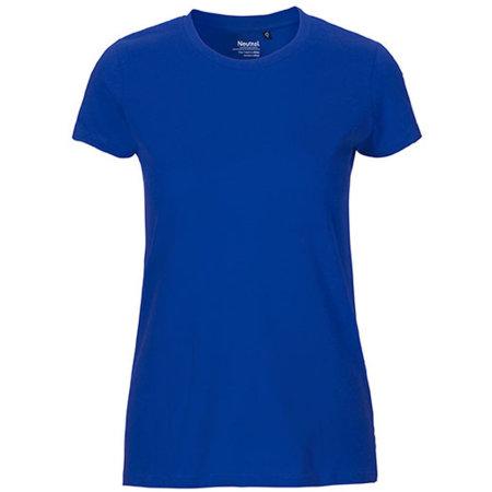 Ladies` Fit T-Shirt in Royal von Neutral (Artnum: NE81001