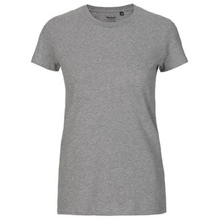 Ladies` Fit T-Shirt in Sports Grey von Neutral (Artnum: NE81001