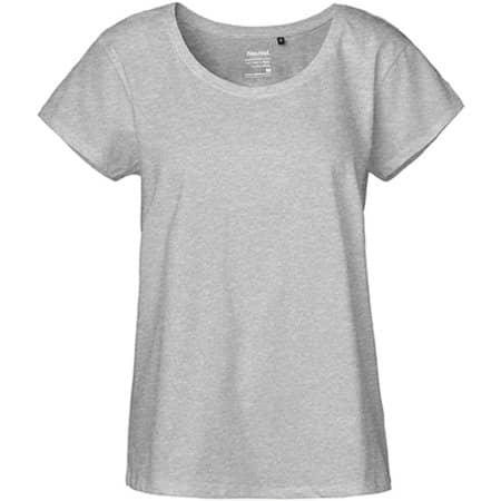 Ladies` Loose Fit T-Shirt in Sports Grey von Neutral (Artnum: NE81003