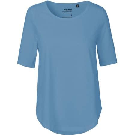 Ladies` Half Sleeve T-Shirt in Dusty Indigo von Neutral (Artnum: NE81004