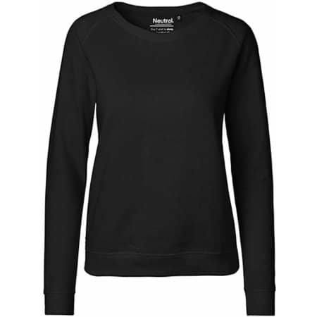 Ladies` Sweatshirt in Black von Neutral (Artnum: NE83001