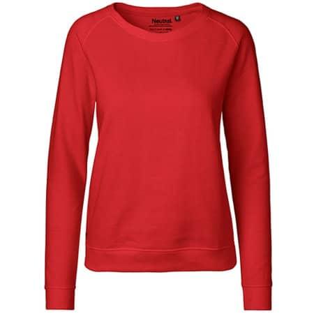 Ladies` Sweatshirt in Red von Neutral (Artnum: NE83001