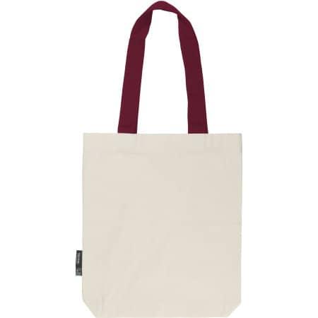 Twill Bag with Contrast Handles von Neutral (Artnum: NE90002
