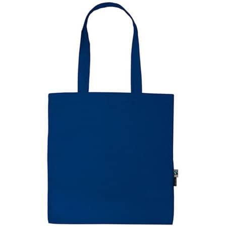 Shopping Bag with Long Handles in Royal von Neutral (Artnum: NE90014