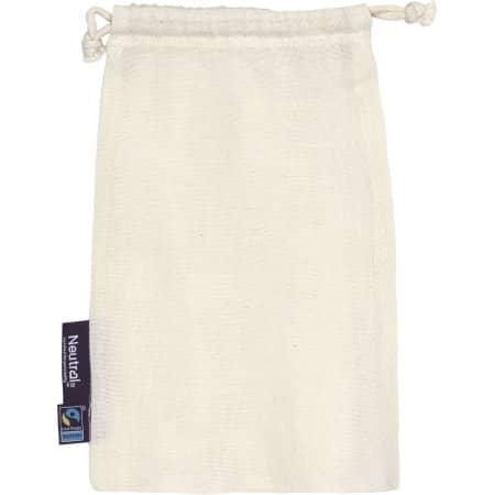 Cotton Bag with Drawstrings (5 Pieces) von Neutral (Artnum: NE95025