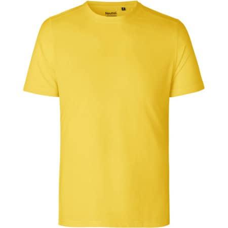 Unisex Performance T-Shirt in Yellow von Neutral (Artnum: NER61001