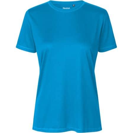 Ladies Performance T-Shirt in Sapphire von Neutral (Artnum: NER81001