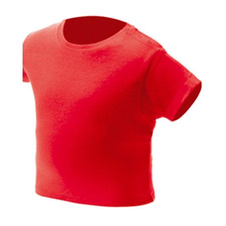Baby T-Shirt NH140B in Red von Nath (Artnum: NH140B