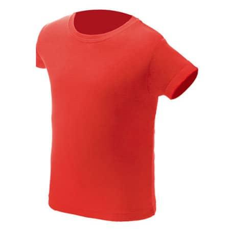 Kids` T-Shirt NH140K in Red von Nath (Artnum: NH140K