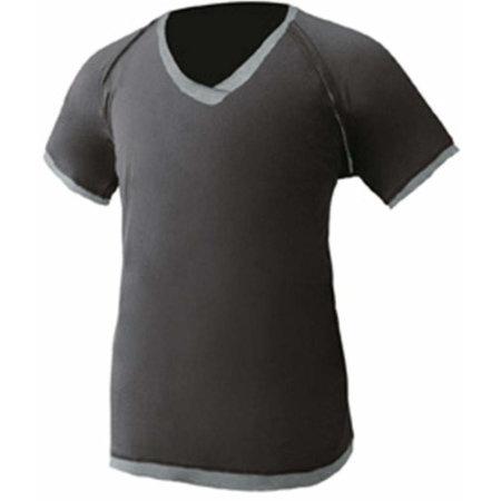 Men`s Tokio Shirt in Black|Grey Melange von Nath (Artnum: NH350