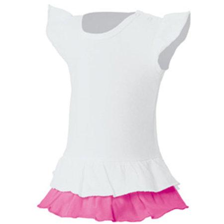 Kids` Vest Sandy in White|Bubblegum von Nath (Artnum: NH603