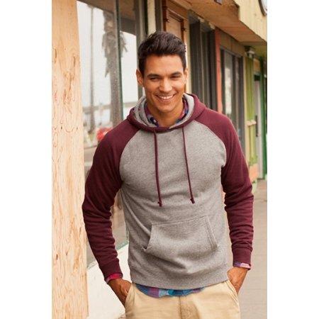 Men`s Lightweight Raglan Hooded Pullover von Independent (Artnum: NP302