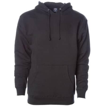 Men`s Heavyweight Hooded Pullover in Black von Independent (Artnum: NP380