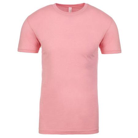 Men`s Crew Neck T-Shirt in Light Pink von Next Level Apparel (Artnum: NX3600