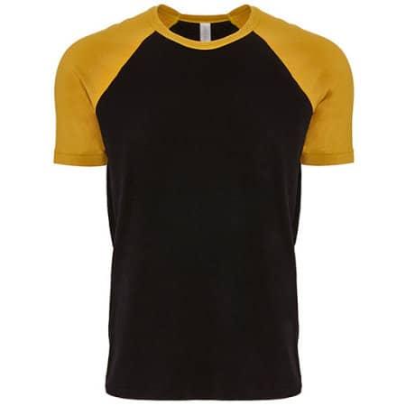Cotton Raglan T-Shirt von Next Level Apparel (Artnum: NX3650