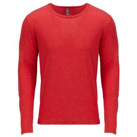 Men`s Long Sleeve Tri-Blend T-Shirt von Next Level Apparel (Artnum: NX6071
