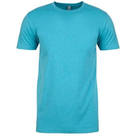 Men`s CVC T-Shirt in Bondi Blue (CVC) von Next Level Apparel (Artnum: NX6210