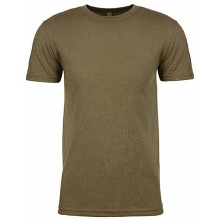 Men`s CVC T-Shirt in Military Green (CVC) von Next Level Apparel (Artnum: NX6210
