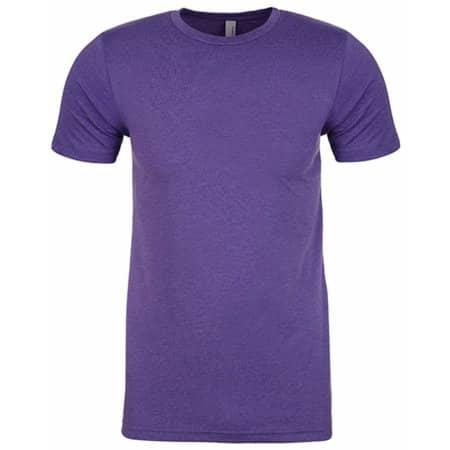 Men`s CVC T-Shirt in Purple Rush (CVC) von Next Level Apparel (Artnum: NX6210