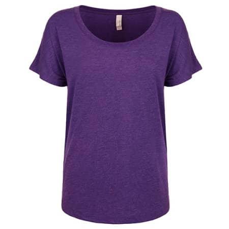 Ladies` Tri-Blend Dolman-T-Shirt von Next Level Apparel (Artnum: NX6760