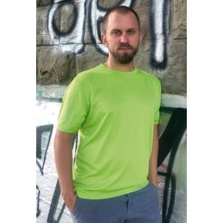 Funktions-Shirt Basic Unisex Recycelt von Oltees (Artnum: OT010R