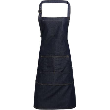 Jeans Stitch Denim Bib Apron von Premier Workwear (Artnum: PW126