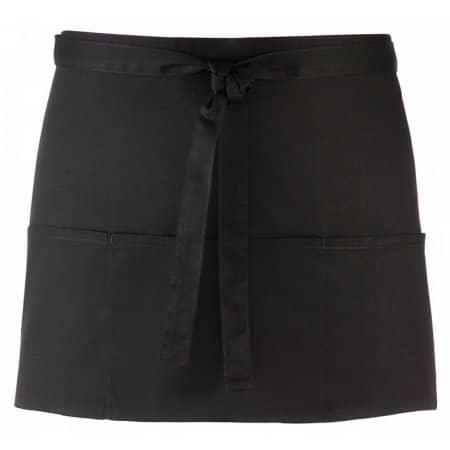 Taschenschürze ´Colours´ in Black von Premier Workwear (Artnum: PW155