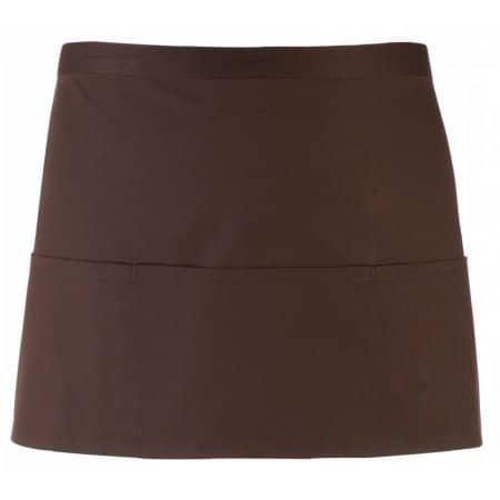 Taschenschürze ´Colours´ in Brown (ca. Pantone 476) von Premier Workwear (Artnum: PW155