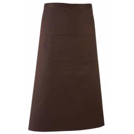 Barschürze Colours in Brown (ca. Pantone 476) von Premier Workwear (Artnum: PW158