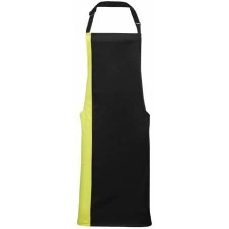 Contrast Bib Apron von Premier Workwear (Artnum: PW162