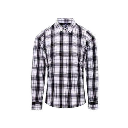 Ginmill Check Womens Long Sleeve Cotton Shirt von Premier Workwear (Artnum: PW354