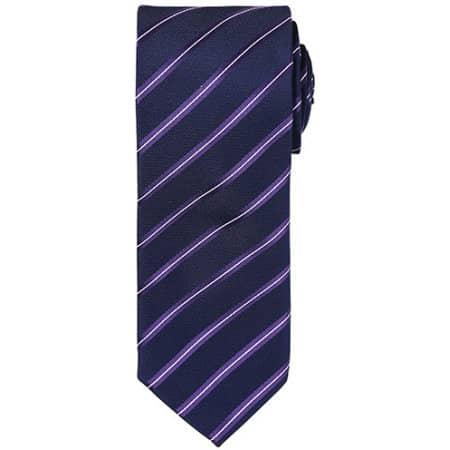 Sports Stripe Tie von Premier Workwear (Artnum: PW784