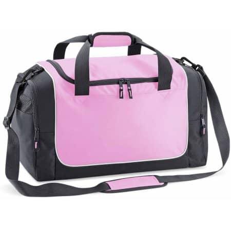 Teamwear Locker Bag in Classic Pink|Graphite Grey|White von Quadra (Artnum: QS77