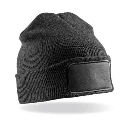 Double High Knit Thinsulate™ Printers Beanie von Result Winter Essentials (Artnum: RC034