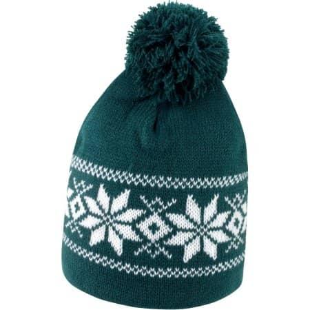 Fair Isle Knitted Hat von Result Winter Essentials (Artnum: RC151