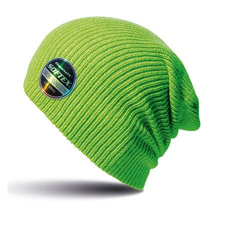 Core Softex® Beanie in Lime von Result Winter Essentials (Artnum: RC31